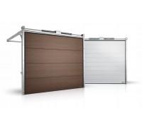 Гаражные секционные ворота серии Alutech Prestige 4000x2250