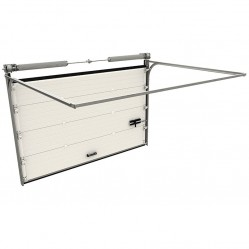 Гаражные секционные ворота Doorhan RSD02 3500х2900 мм