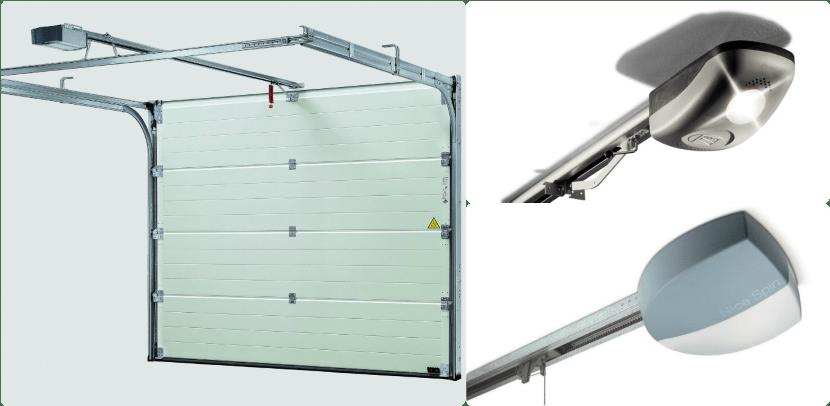 выбираем автоматику для гаражных секционных ворот